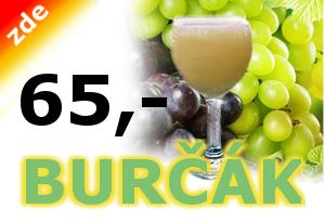 Banner - Burčák ve vinotéce vkopečku